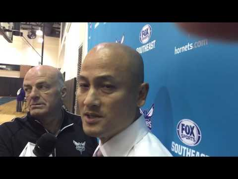 Hornets General Manager Rich Cho