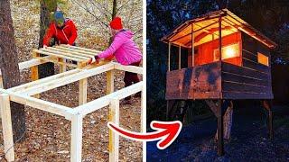 DIY 나무 팔레트 프로젝트와 아이디어 || 놀라운 나…