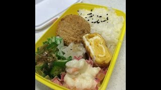 【4-speed】How to make everyday healthy Japanese food and BENTO! 0519