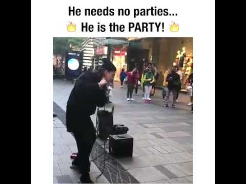 He need no parties 🔥he is the party 🔥