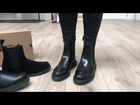Dr. Martens Flora Black Smooth YouTube
