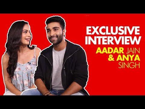 EXCLUSIVE:Aadar Jain & Anya Singh On Bollywood Debut, Ranbir Kapoor, Nepotism & Trolling   SpotboyE