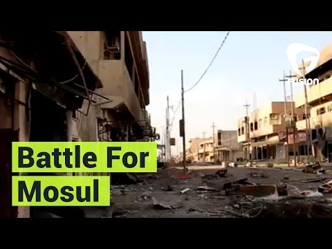 On the Front Line Of the Battle For Mosul