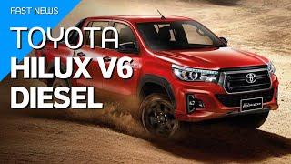 Quando a Toyota anunciou que a Hilux teria um motor V6, todos esperavam que se tratava de uma versão turbodiesel. Como já falamos aqui, a Hilux V6 ...