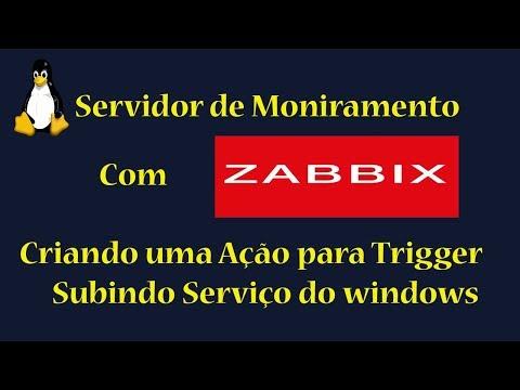 Servidor de Monitoramento com Zabbix p8 - Criando uma ação para Trigger