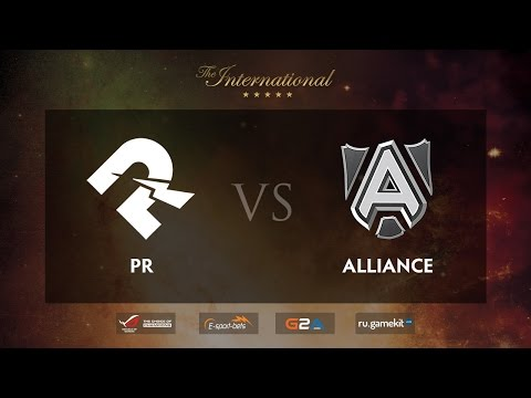 PR vs Alliance Game 1, TI5 EU Qualifiers