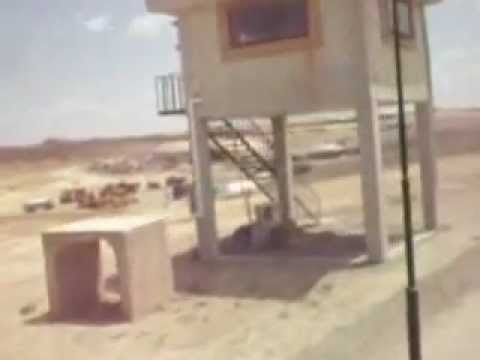 US Army Base FOB Sharana Afghanistan