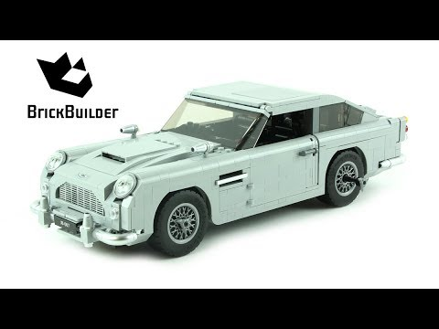 Lego Creator 10262 James Bond Aston Martin Db5 Lego Speed Build