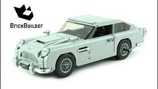 Lego Creator 10262 James Bond Aston Martin DB5 - Lego Speed Build