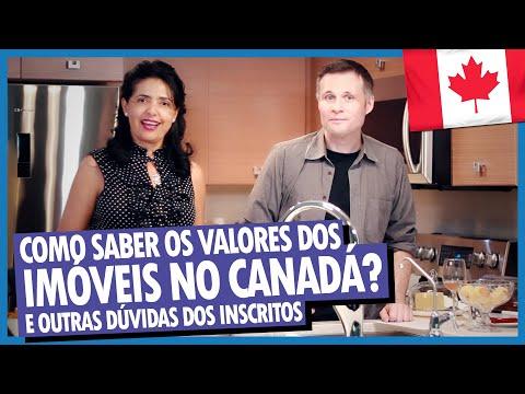 COMO SABER O VALOR DOS IMÓVEIS NO CANADÁ? e mais DÚVIDAS SOBRE FINANCIAMENTO DE IMÓVEIS NO CANADÁ