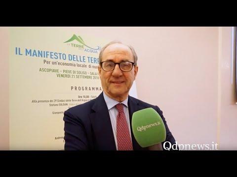 Pieve di Soligo - Presentazione del Manifesto dell'Acqua