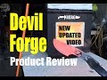 Devil Forge Product Review and Setup updated video