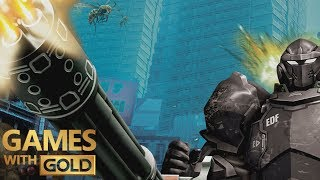 Earth Defense Force 2025 - Games With Gold