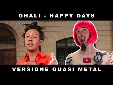 Ghali - Happy Days (non è una PARODIA è una COVER ROCK/PUNK/METAL) #freedownload