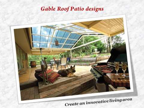 Gable Roof Patio DesignsModern Solutions