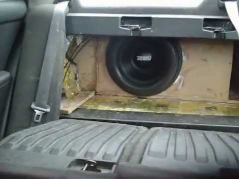 how to build a false wall in trunk