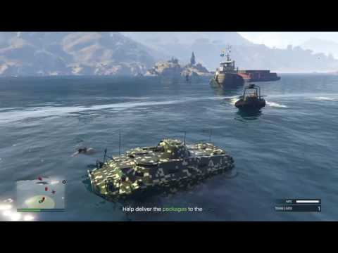 GTA Online Gunrunning - Mobile Operation #4  (Offshore Assests) And APC CUSTOMIZATION!!!!!!!!