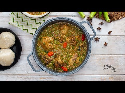 How To Prepare Grilled Chicken Okra Soup