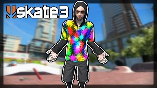 How to get my Rainbow Outfit - Skate 3