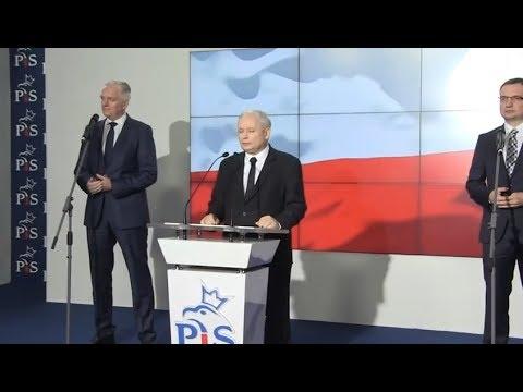 Oświadczenie liderów Zjednoczonej Prawicy – Kaczyński, Gowin, Ziobro