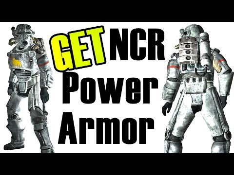 Fallout New Vegas: How To Get Power Armor NCR WITHOUT POWER ARMOR TRAINING