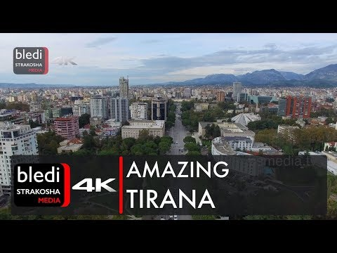Amazing Tirana, Albania [Drone video | 4K Ultra HD]