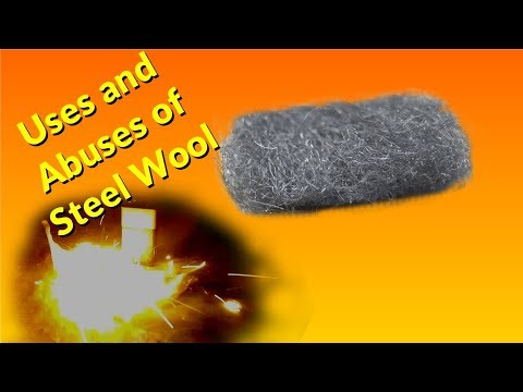 DIY Steel Wool Cleaning Polishing and Burning