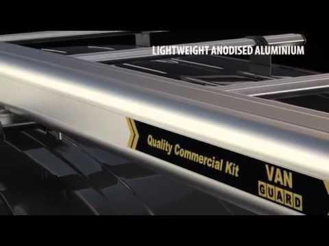 Van Guard Standard Pipe Carrier Roof Tube For Vans