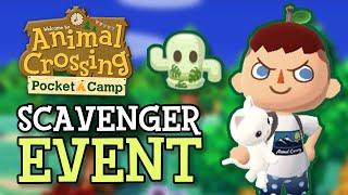 CHILL GREENHOUSE SUMMER EVENT (Scavenger Hunt Details & Items) Animal Crossing Pocket Camp