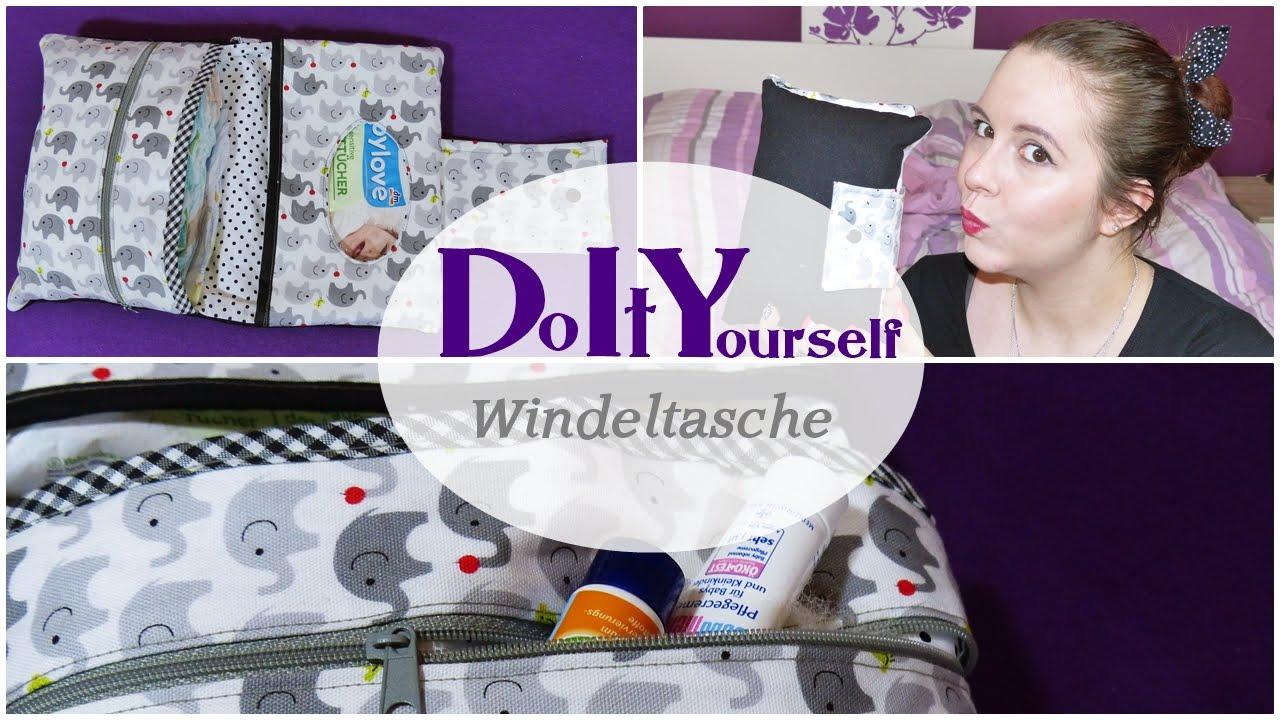 DIY ~ Windeltasche selber nähen - YouTube