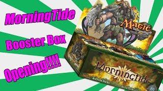 OMG! MTG Morningtide Booster Box Opening-Sick Pulls