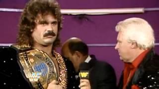 WWE - Mean Gene's 1989 SummerSlam Blooper - Extended