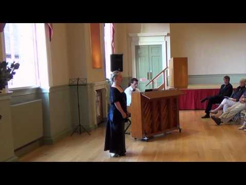 City Wall Productions Art Song Competition - Naomi Felstead: 'To Daffodils' (Delius)