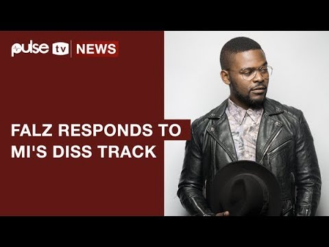 Falz Responds To MI's Diss Track 'You Rappers Should Fix Up Your Lives'  | Pulse TV New