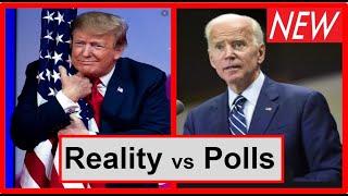 Youtube Rankings vs Polls - Trump vs Biden - sample size 1000 or sample size of millions