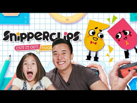 Thumbnail: DON'T CUT ME!!! Let's Play Some SNIPPERCLIPS!