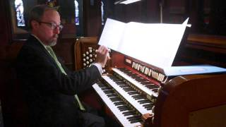 John Cook Paean on Divinum Mysterium | Mark Dwyer Organist | Aeolian-Skinner Pipe Organ