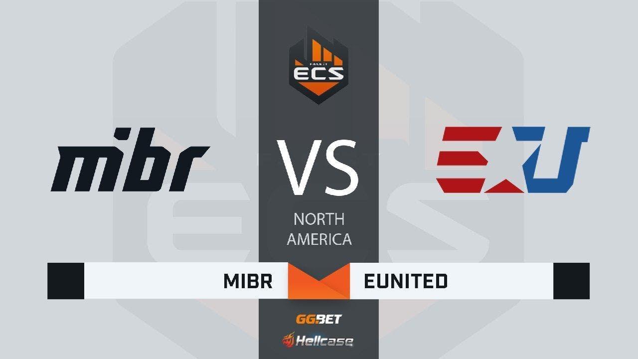 [RU] MIBR vs eUnited | Map 1 – Mirage | ECS Season 7 North America