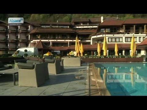 Le Spa De L Hotel Chez Julien A Fouday Youtube