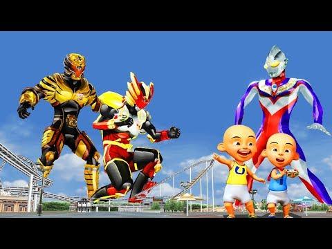 Upin Ipin Ultraman Tiga Vs Bima X and Torga Nursery Rhymes