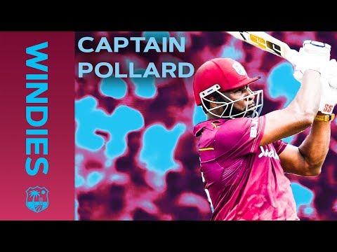 Your New White Ball Captain... KIERON POLLARD | Best Moments vs India 2019