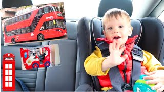 Fun family trip to London and London Bus and Kids Playground