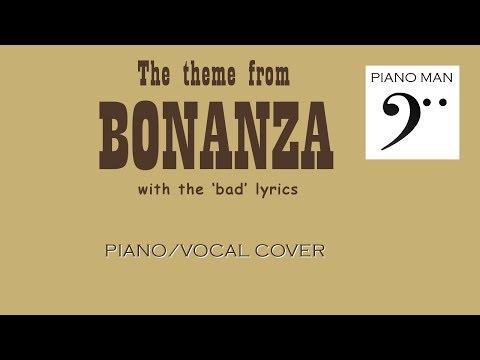 """""""We got a right to pick a little fight""""   Bonanza piano/vocal cover"""