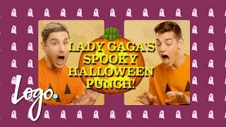Lady Gaga's Spooky Halloween Punch 🎃 Hosting the Holidays w/ Matt & Dave! | Logo