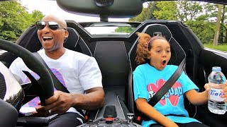 LAMBORGHINI LAUNCH CONTROL!! Kids React