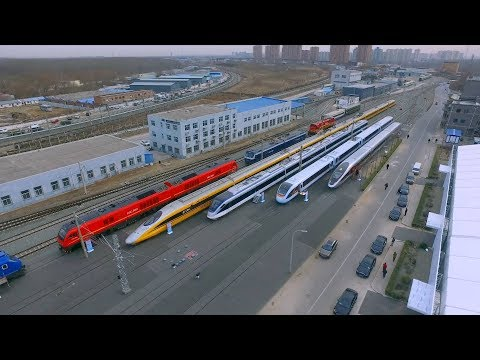 440 meters long! New Fuxing high-speed train unveiled in Beijing