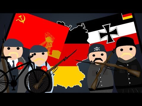 The German Region that Became a Communist Republic in 1920 - The Red Ruhr Rising