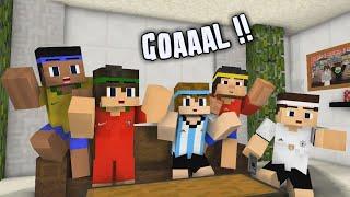 GOAAAL ! - Tipe-tipe Nonton Piala Dunia Versi Minecraft Animation Indonesia