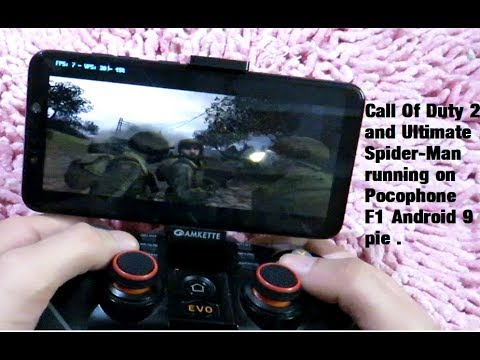 Pocophone F1 Ultimate Spiderman & Call Of Duty 2 Big Red One Damon PS2 V 1.3 & Dolphin Android 9