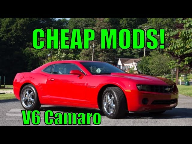 V6 Camaro Cheap Modifications